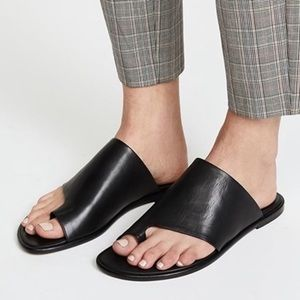 Vince 7 1/2 Edris tie loop slide sandals